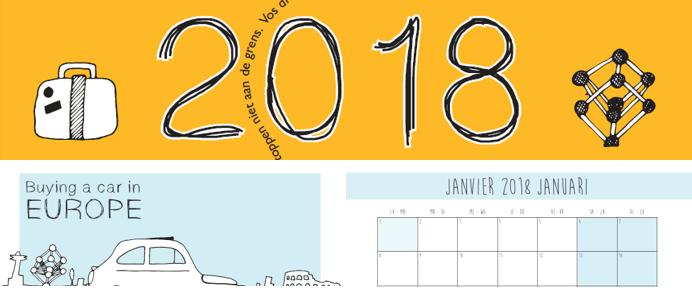 Ecc Calendar.Calendar 2018 Ecc Belgium